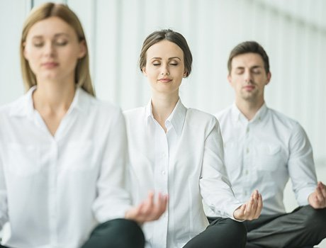 The Sole Point :: How the Calm Program Works - Meditation
